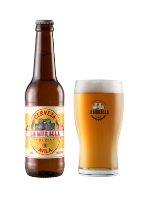 Cerveza-Avila-La-Muralla-Blonde-Ale-Rubia-Vaso